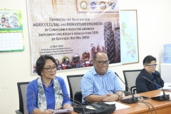 Consultative Meeting of Agricultural and Biosystems Engineers